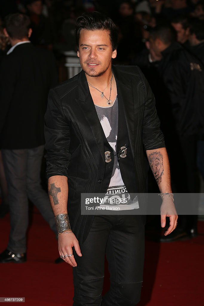 Brice Conrad arrives at the 15th NRJ Music Awards at the Palais des Festivals on December 14, 2013 in Cannes, France.