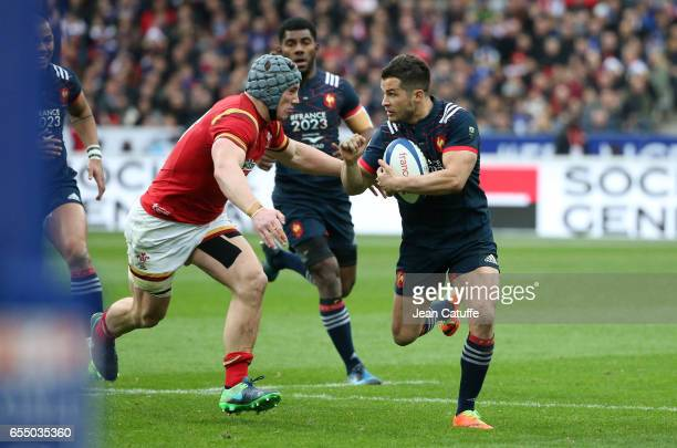 Brice Dulin of France in action during the RBS 6 Nations rugby match between France and Wales at Stade de France on March 18 2017 in SaintDenis near...
