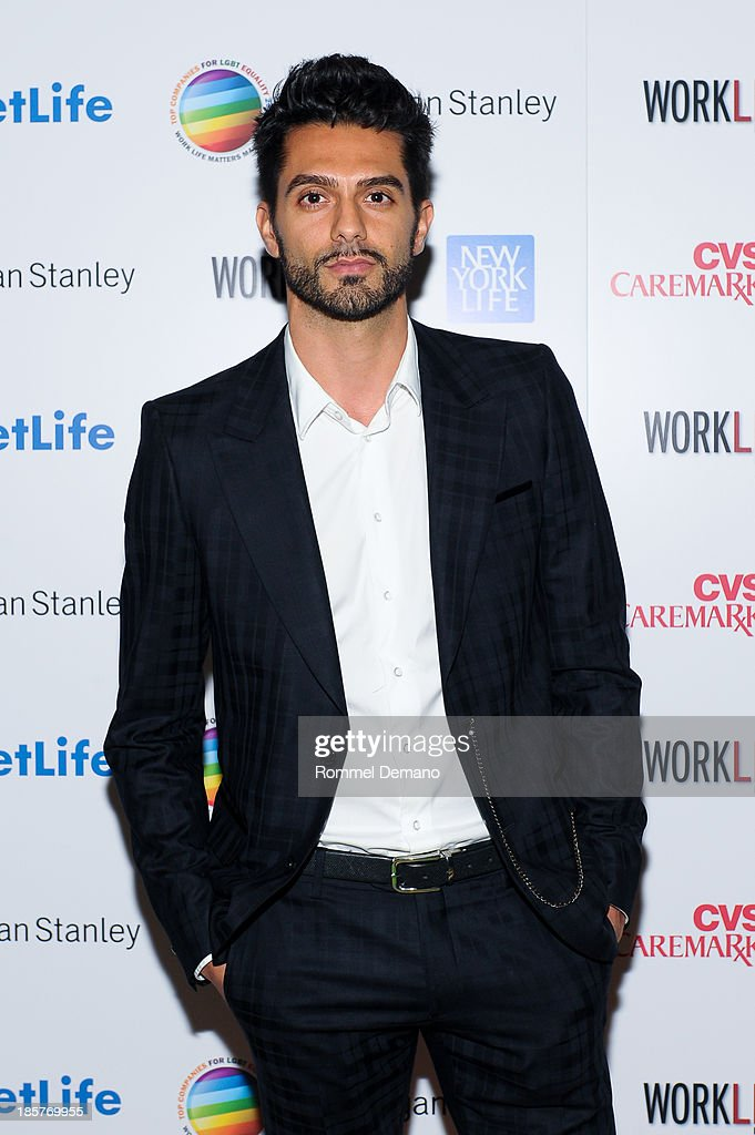 Brice Mousset attends the 11th Annual Work Life Matters gala at Club 101 on October 24, 2013 in New York City.