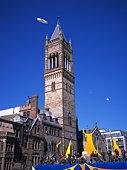 Brick tower, Massachusetts, USA