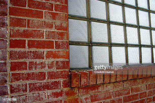 Astratto muro di mattoni