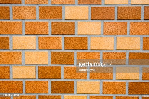 Brick Pattern Siding : Brick wall building siding as classic background texture
