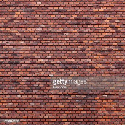 Brick wall with various shades of brown
