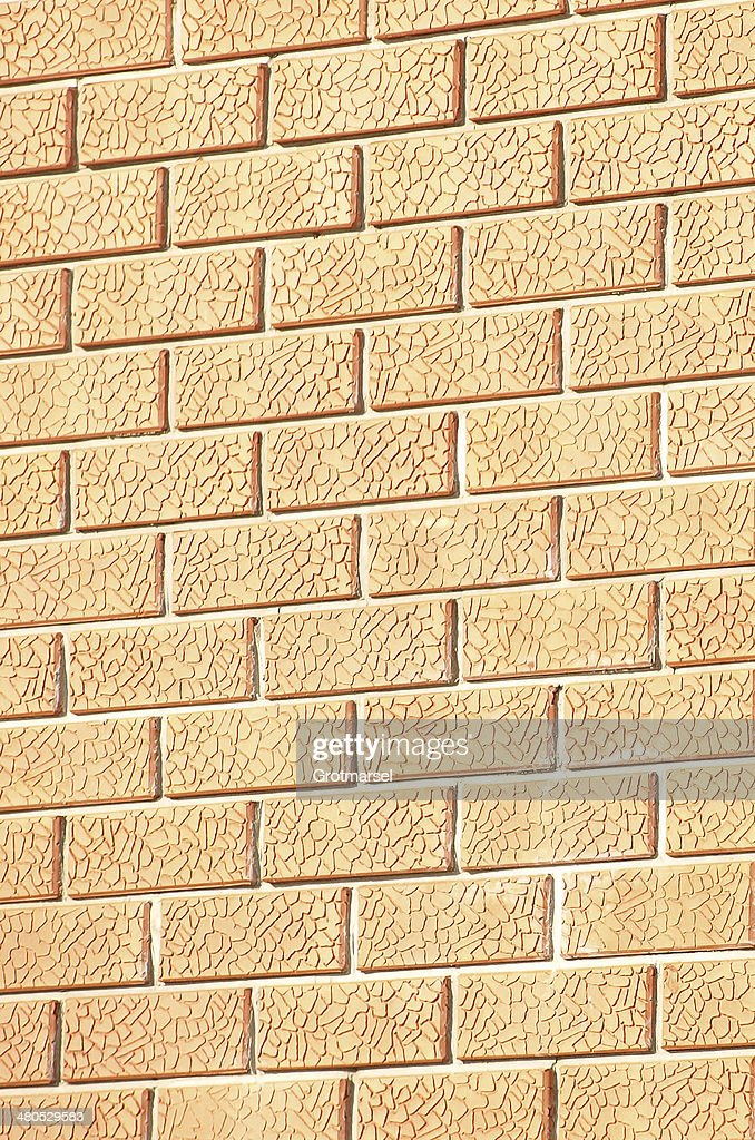 Brick wall.Background : Bildbanksbilder