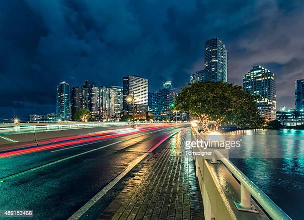 マイアミ-ブリッケルの夜