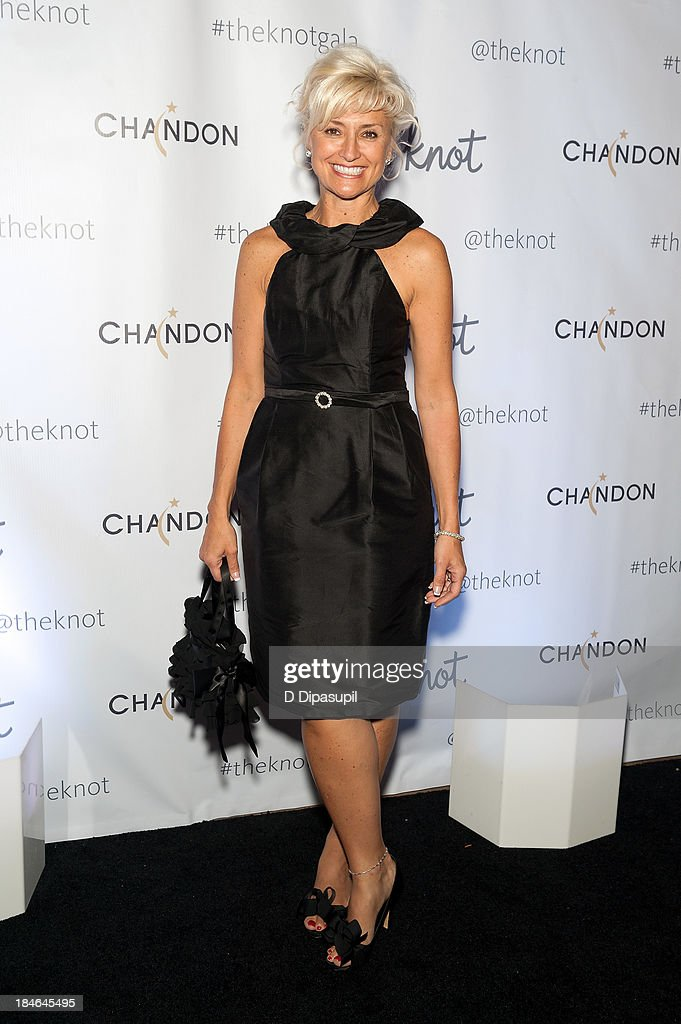 Bridal designer Victoria Nicole attends The Knot Gala at the New York Public Library - Astor Hall on October 14, 2013 in New York City.