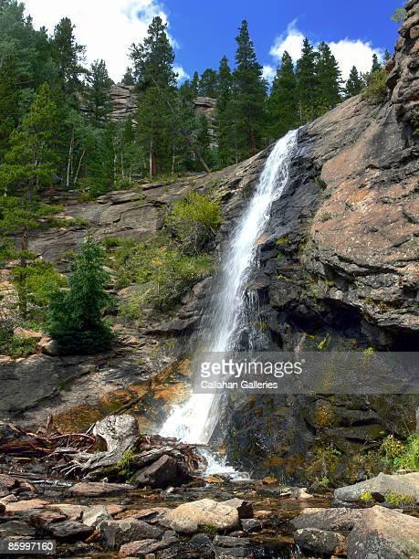 Bridal Veil Falls at Rocky Mountain National Park