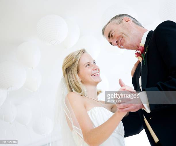 Bride and Father dancing on her wedding day