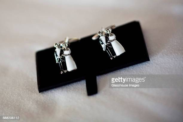 Bride and Groom Cufflinks