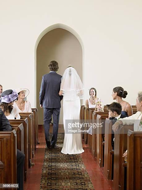 新郎新婦の教会