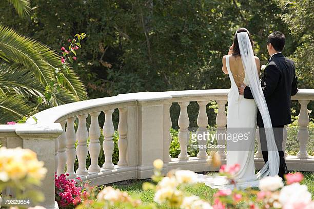 Terrific The Bride And Groom Back View Stock Photos And Pictures  Getty Images With Licious Bride And Groom In Garden With Beauteous Garden Brackets Also Contemporary Garden Design Ideas In Addition Hanging Gardens Of Babylon Now And Garden Mowers As Well As Grand Garden Menu Additionally The Little Garden From Gettyimagescom With   Licious The Bride And Groom Back View Stock Photos And Pictures  Getty Images With Beauteous Bride And Groom In Garden And Terrific Garden Brackets Also Contemporary Garden Design Ideas In Addition Hanging Gardens Of Babylon Now From Gettyimagescom