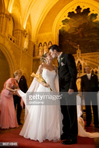 Image result for bride and groom in church