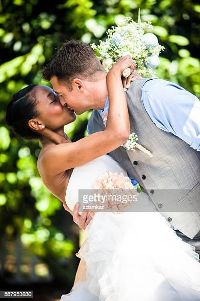 Portrait de la mariée et le marié