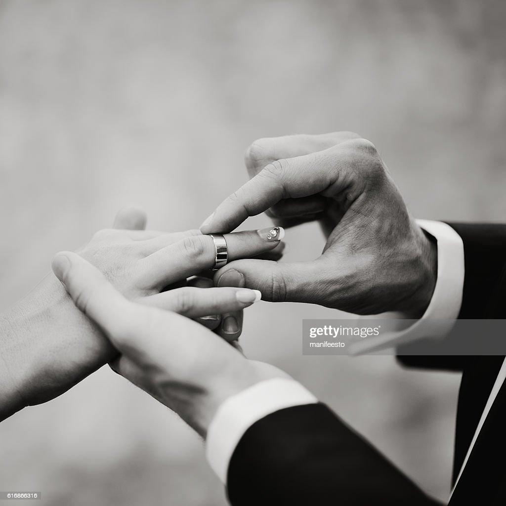bride and groom, Proposal Moment : Stock Photo