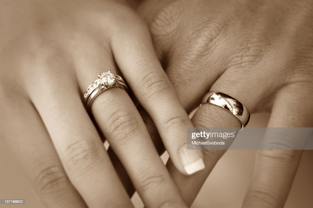 Wedding ring stock photos and pictures getty images bride and groom wedding rings junglespirit Choice Image