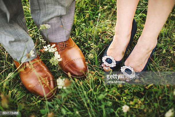 Bride & Groom's Feet