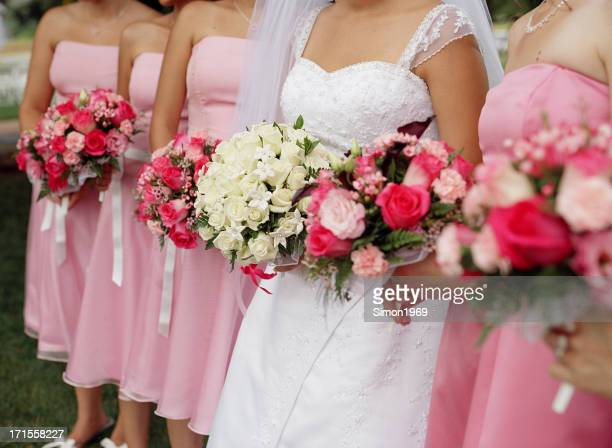 Bride In Focus Wedding Picture