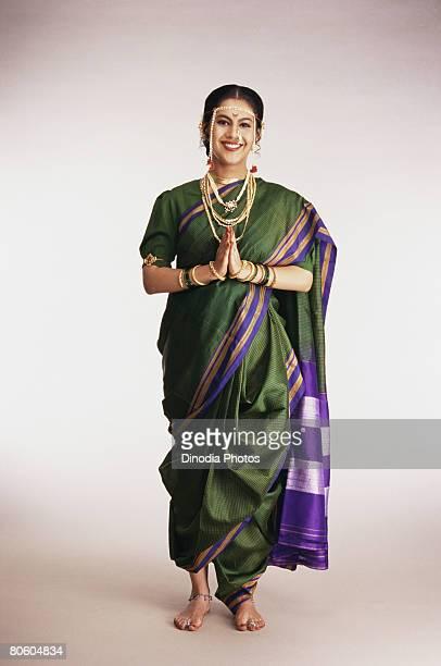 Bride in Maharashtrian attire