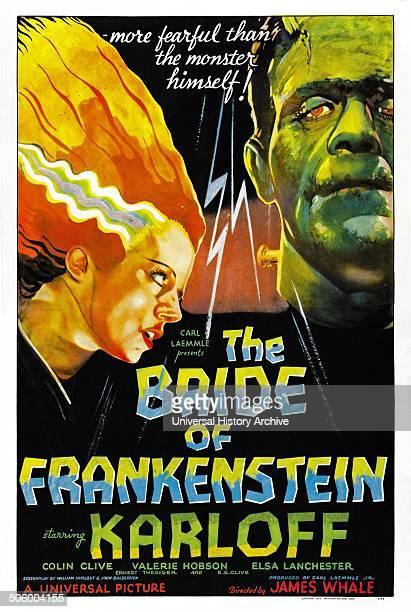 'Bride of Frankenstein' a 1935 American horror film the first sequel to Frankenstein It stars Boris Karloff as the monster