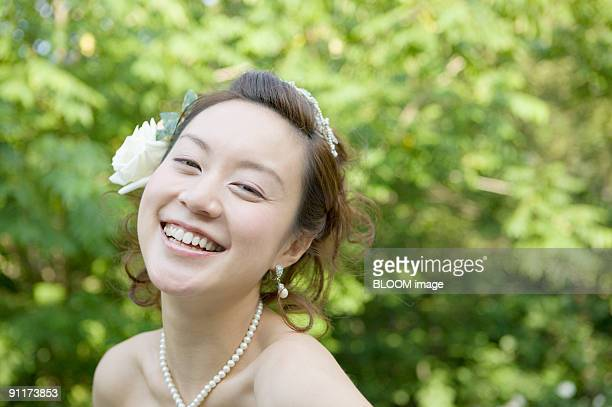 Bride, portrait, close-up