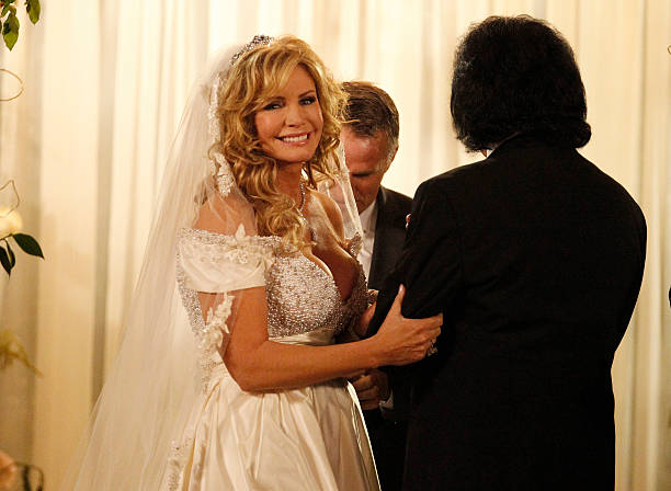 Bride Shannon Tweed And Groom Gene Simmons Attend Their Wedding Held At The Beverly Hills Hotel
