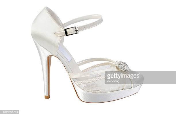Braut Schuh
