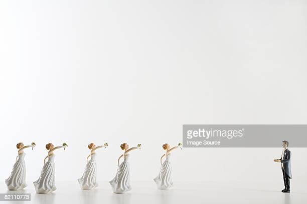 Bridegrrom and brides