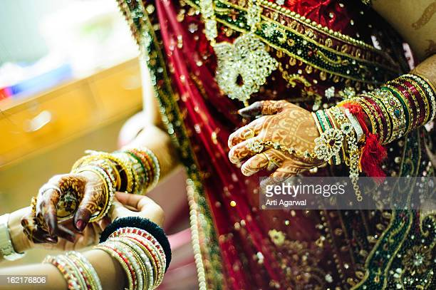 Bride's Bangles selection