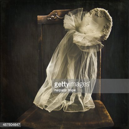 Bride's Hat on a Chair