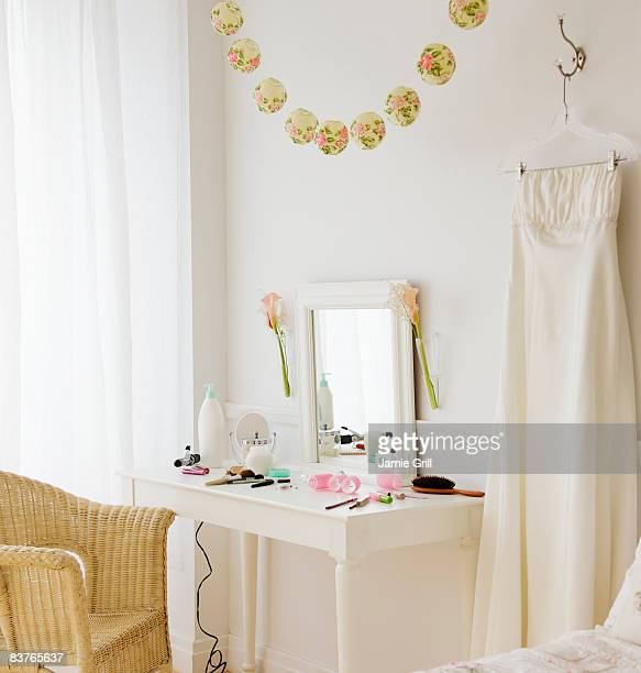 Bride's room before the wedding