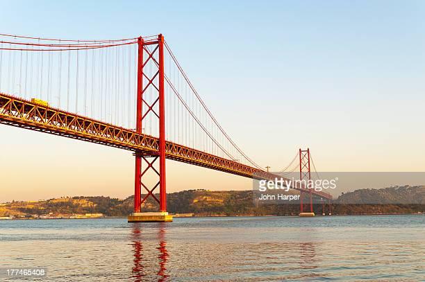 Bridge 25 de Abril, Lisbon, Portugal