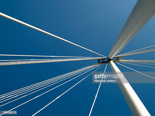 Bridge aagainst blue sky