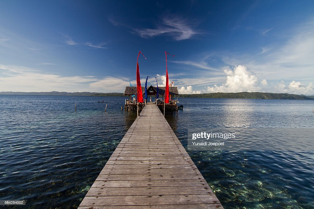 Bridge Above the Sea, Raja Ampat