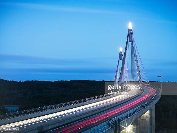 Bridge at dusk
