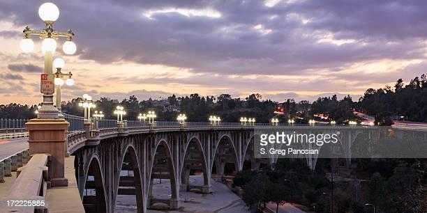 Bridge al tramonto
