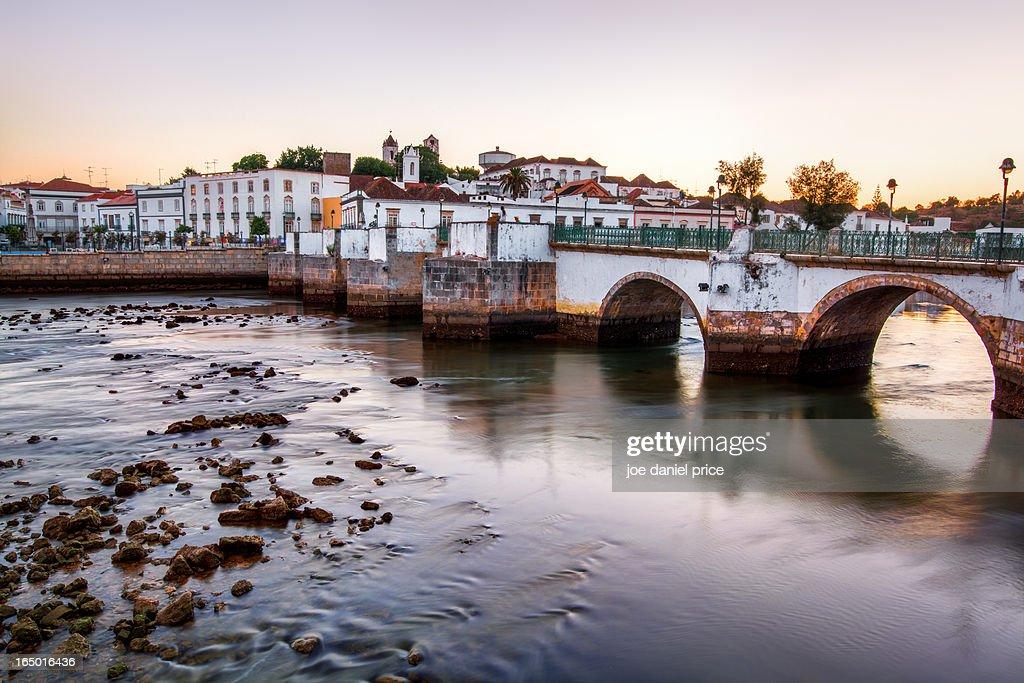 Bridge at Tavira, Algarve, Portugal