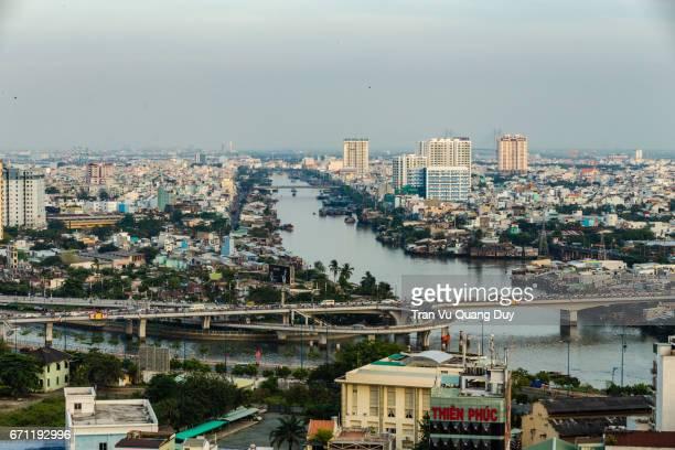Y bridge, bridge connecting District 8 and District 5 of Sai Gon.