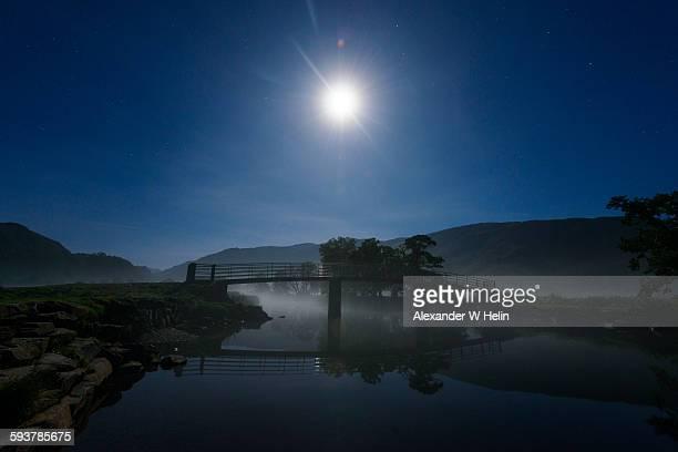 Bridge by moonlight