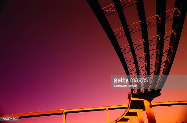 Bridge Construction on an Expressway Interchange