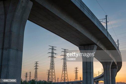 Bridge Electricity Pylon