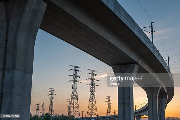 Bridge Electricity Pylon