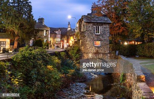 Bridge House Ambleside Lake District Cumbria England Stock
