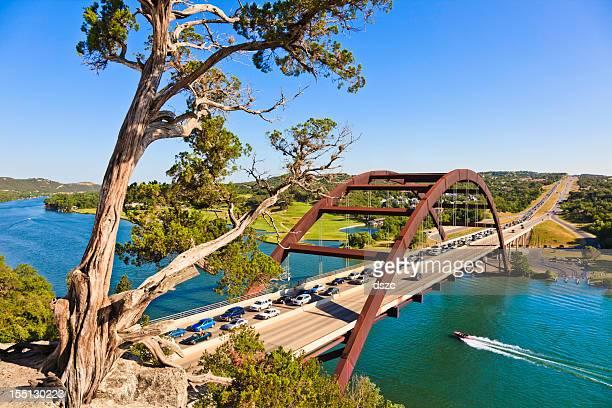 360 Bridge (Pennybacker Bridge) à Austin, au Texas
