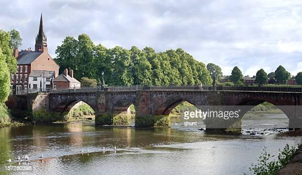 Puente en Chester, Inglaterra