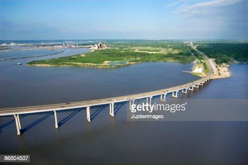 Bridge in Lake Charles, Louisiana