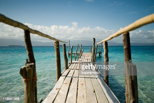 Bridge in the San Blas Islands