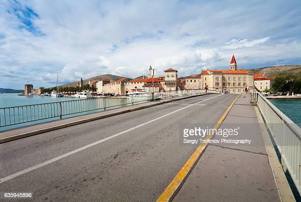 Bridge in Trogir, Croatia