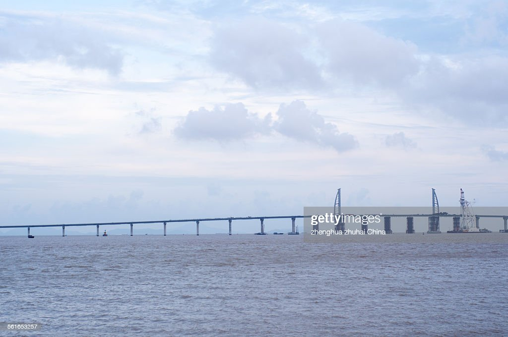 HZM bridge in Zhuhai China