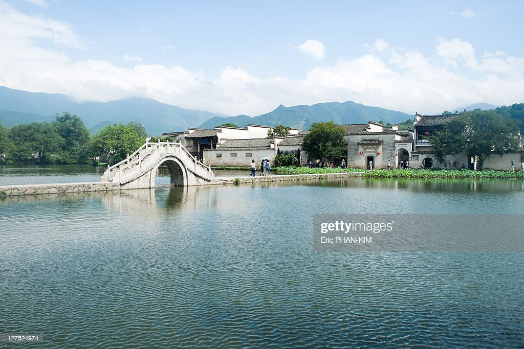 Bridge lanscape, HongCun, China