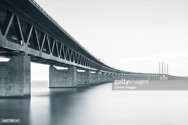 Bridge, low angle view
